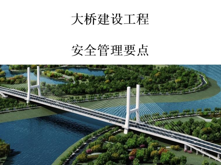 安全现场检查重点资料下载-建设工程项目之大桥安全管理要点