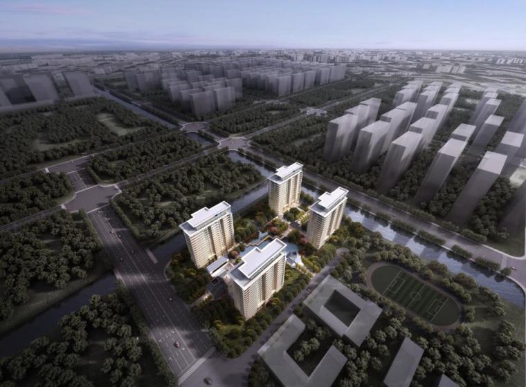 二层豪宅设计资料下载-[江苏]国际社区高端豪宅建筑方案设计