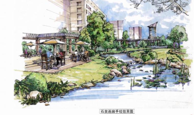 [北京]现代风格商业住宅景观设计方案