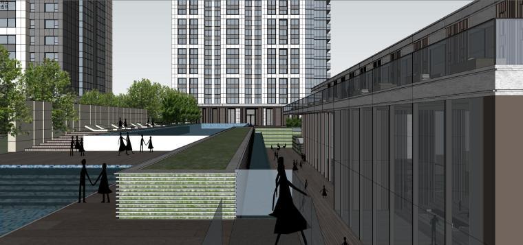 湖北知名企业现代高层豪宅建筑模型设计 (13)