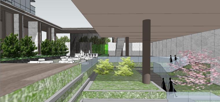 湖北知名企业现代高层豪宅建筑模型设计 (16)