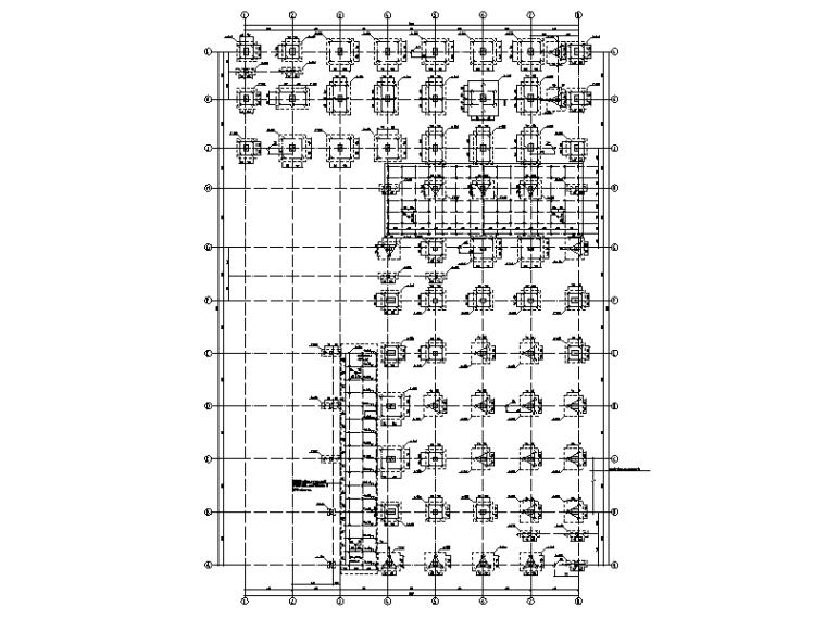 [广东]多层医院行政后勤楼框架结构施工图
