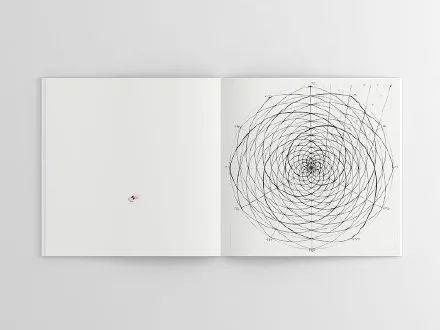 理工男花40年时间,用圆规画1000张画_11
