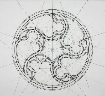 理工男花40年时间,用圆规画1000张画_32