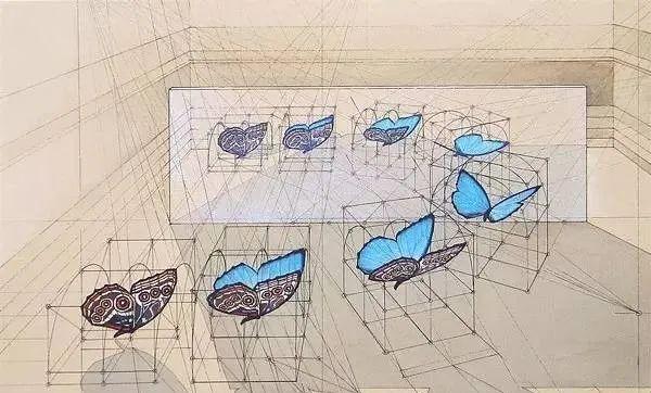 理工男花40年时间,用圆规画1000张画_37