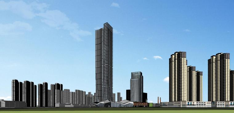 知名企业汉阳铁厂旧改总体规划设计-红砖 (4)