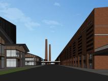 知名企业汉阳铁厂旧改总体规划设计-红砖