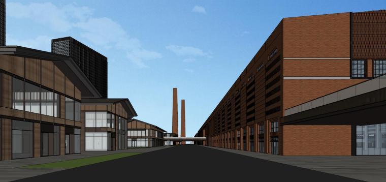 知名企业汉阳铁厂旧改总体规划设计-红砖 (1)