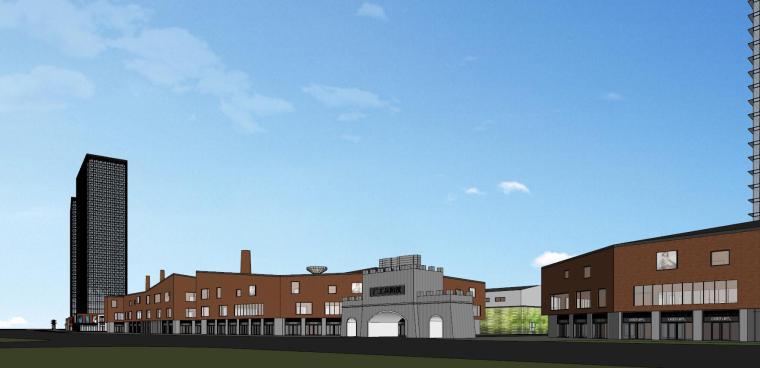 知名企业汉阳铁厂旧改总体规划设计-红砖 (6)
