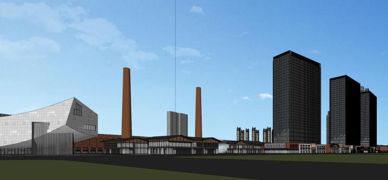 知名企业汉阳铁厂旧改总体规划设计-红砖 (5)