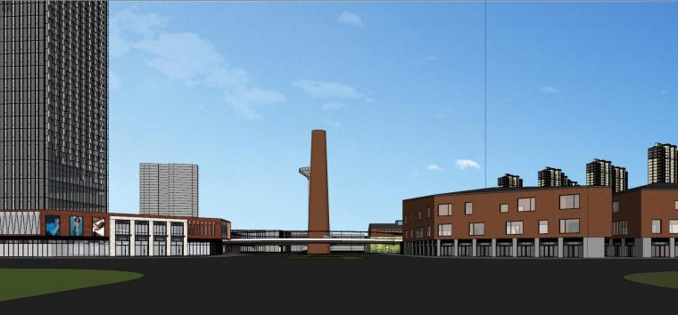 知名企业汉阳铁厂旧改总体规划设计-红砖 (8)