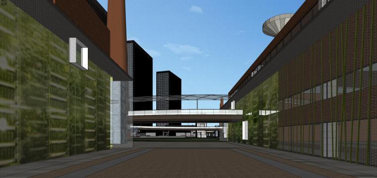 知名企业汉阳铁厂旧改总体规划设计-红砖 (15)