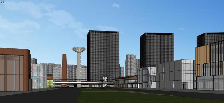 知名企业汉阳铁厂旧改总体规划设计-红砖 (12)