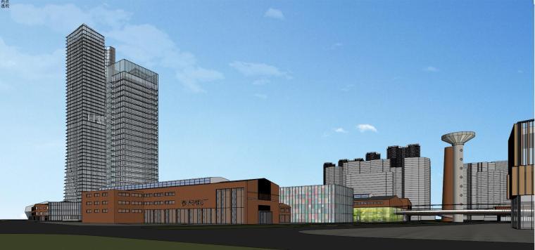 知名企业汉阳铁厂旧改总体规划设计-红砖 (14)