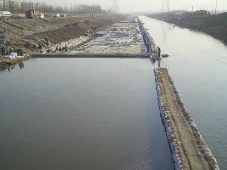 河道围堰施工