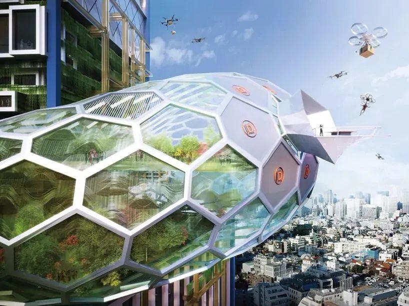 """日本""""未来派""""垂直城市"""