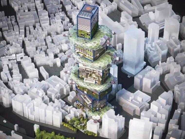 """日本""""未来派""""垂直城市,这结构,这创意!_4"""