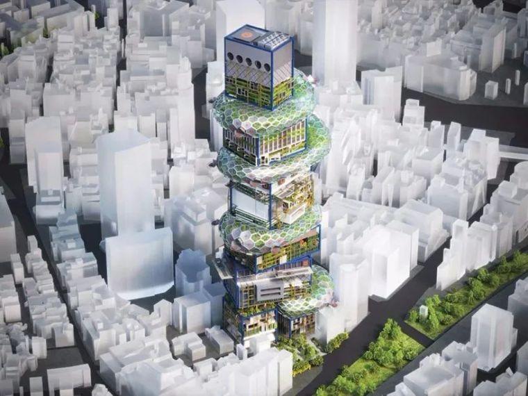 """日本""""未来派""""垂直城市,这结构,这创意!_6"""