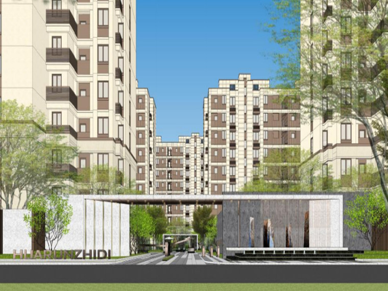 浙江宁波知名企业现代风住宅景观方案设计