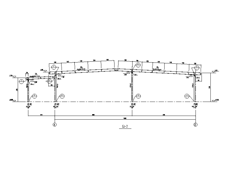 [广州]汽车产能扩建工程车间结构施工图2020