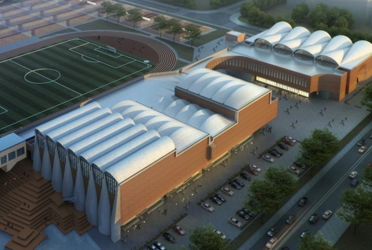 天大体育馆BIM技术创新应用案例(图文并茂)