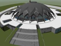 湖南省大型体育馆全BIM设计(图文并茂)