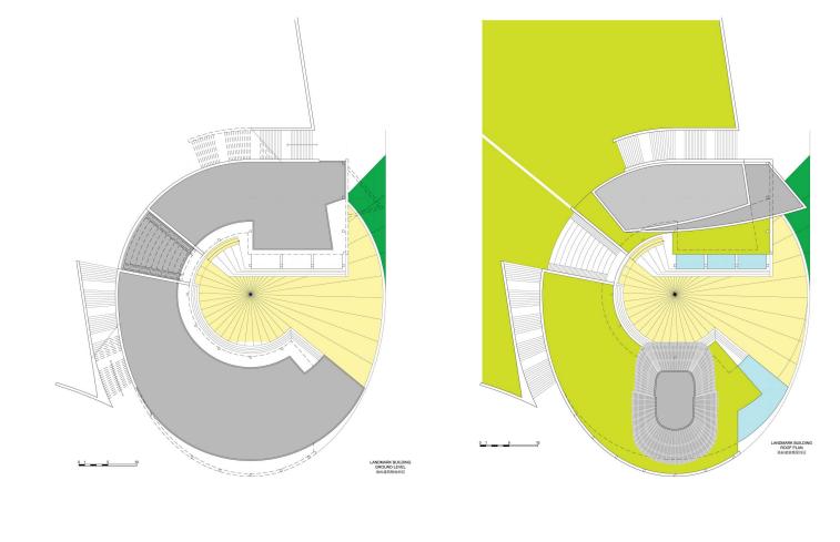 标志性建筑平面图