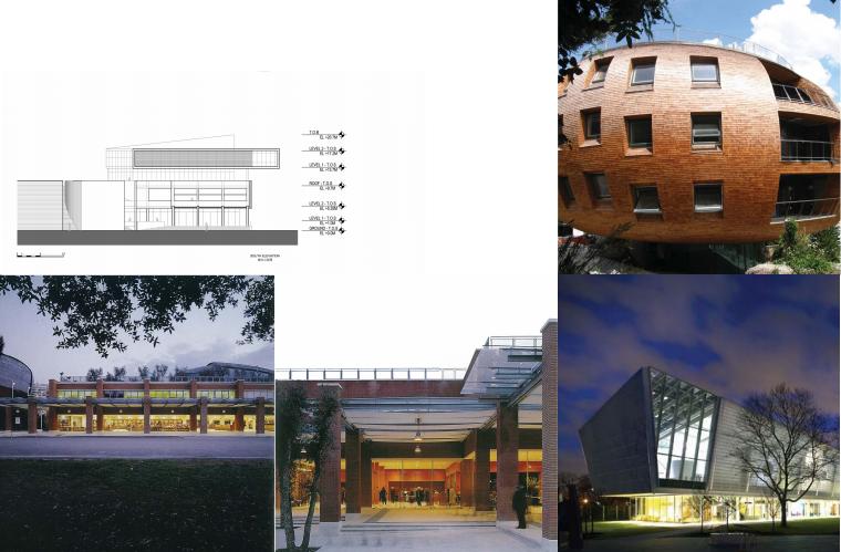 标志性建筑立面图二