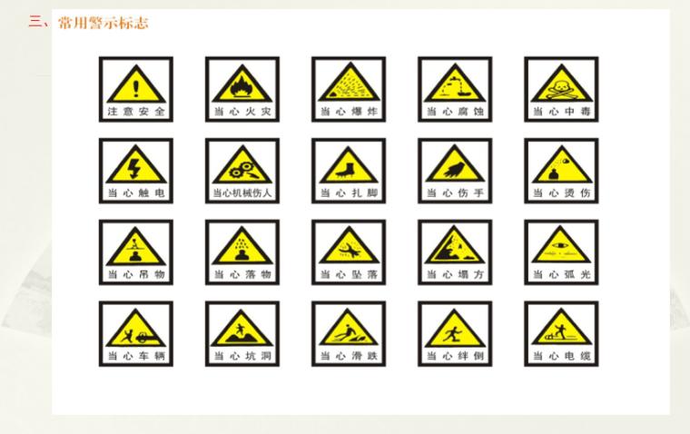 06 常用警示标志