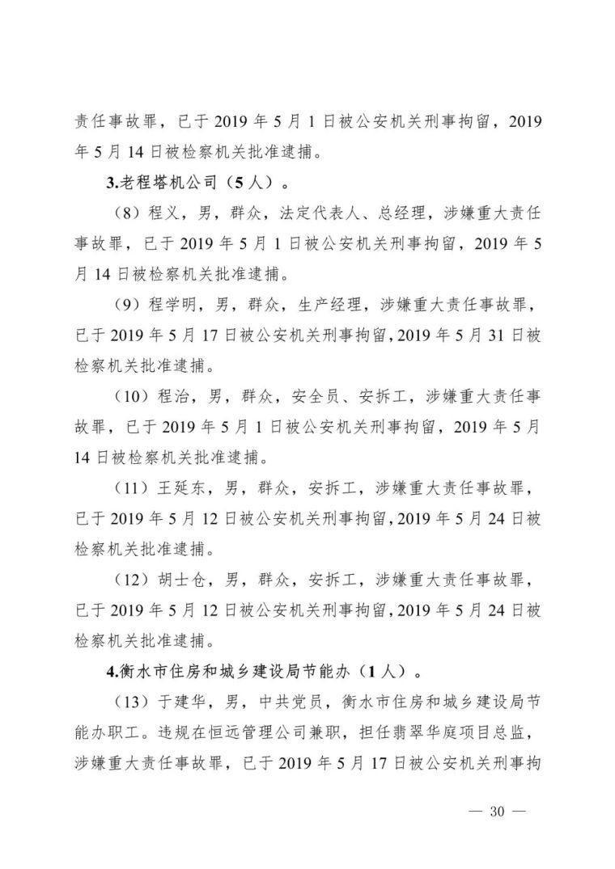 11死2伤,项目经理总监安全科长等13人逮捕_34