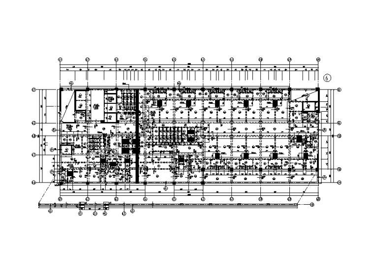 [广东]12层框剪结构住院综合楼结施图纸2017