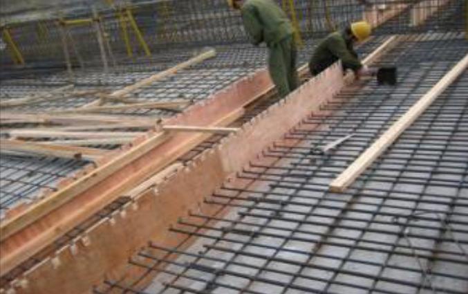 03 后浇带模板钢筋施工