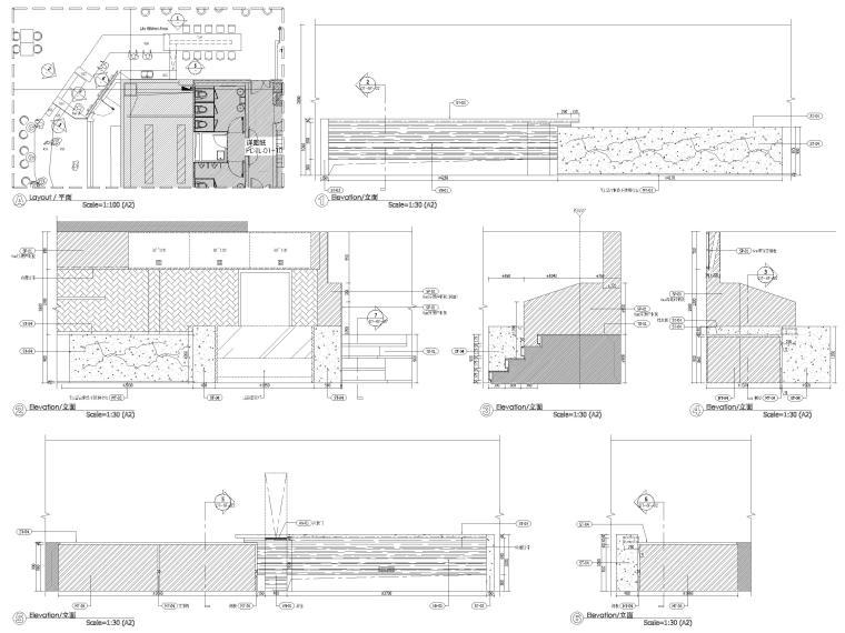六层立面图3