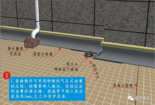 屋面工程精细化不好做?收好三维工艺节点图!_12