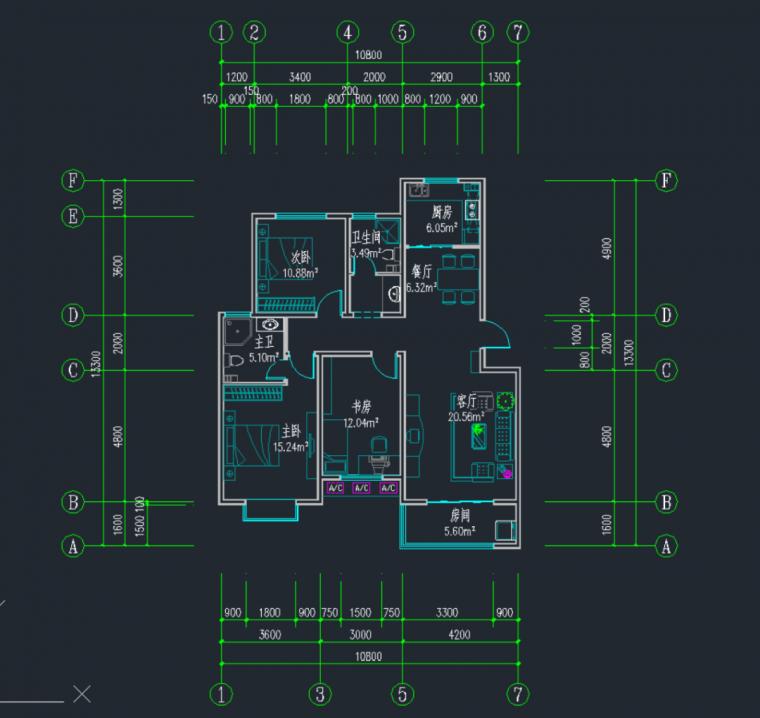 青少年宫建筑图纸资料下载-建筑图纸还能这么画?10分钟完成户型图!