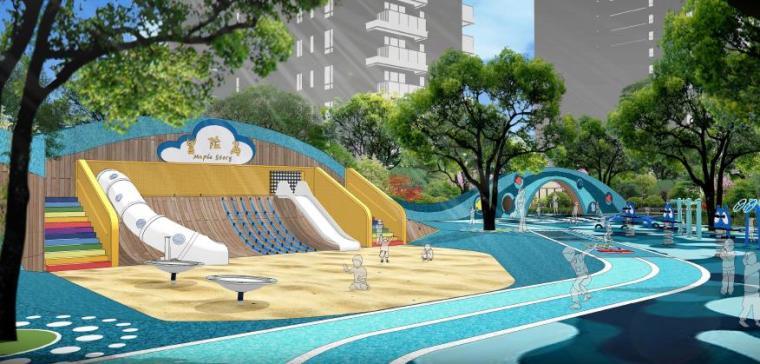 儿童游乐园景观效果图2