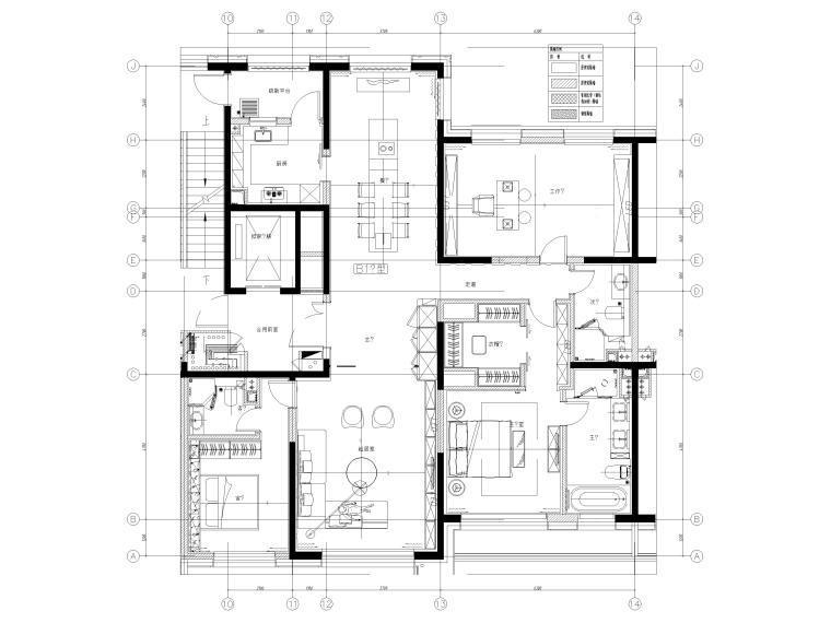 家具平面布置图