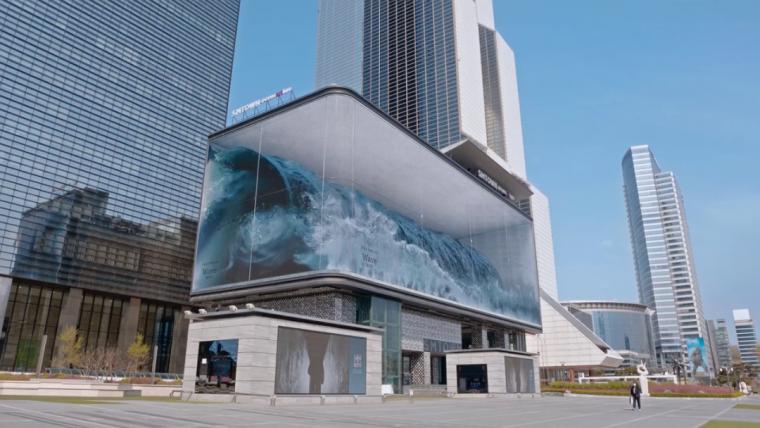 """韩国街头惊现20米巨型""""水缸""""!_1"""