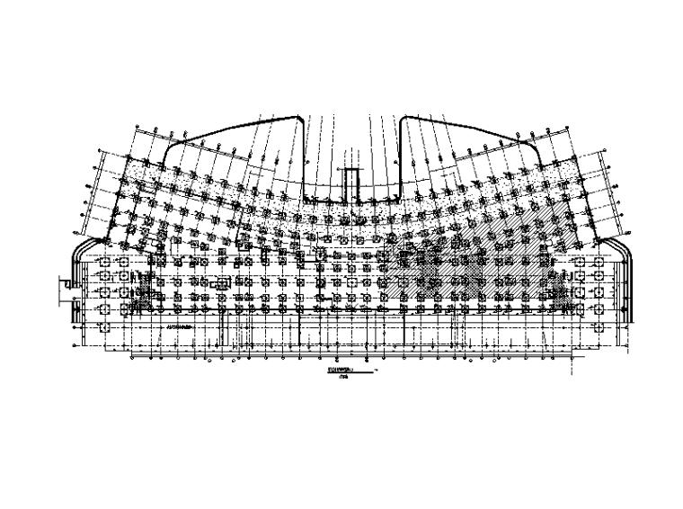 医院框剪结构地下人防工程结构施工图2018