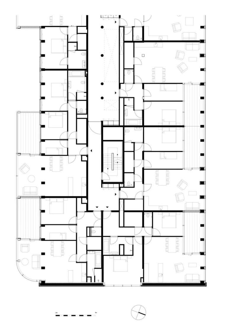 高端住宅公建化立面设计_18