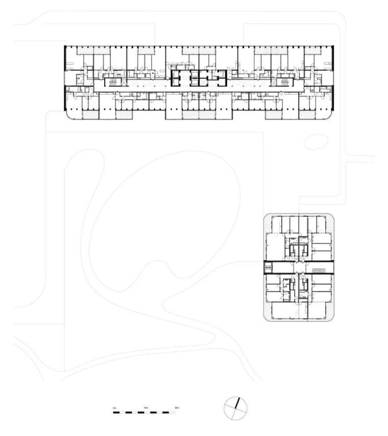 高端住宅公建化立面设计_19