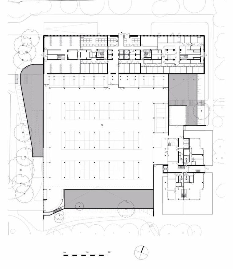 高端住宅公建化立面设计_22