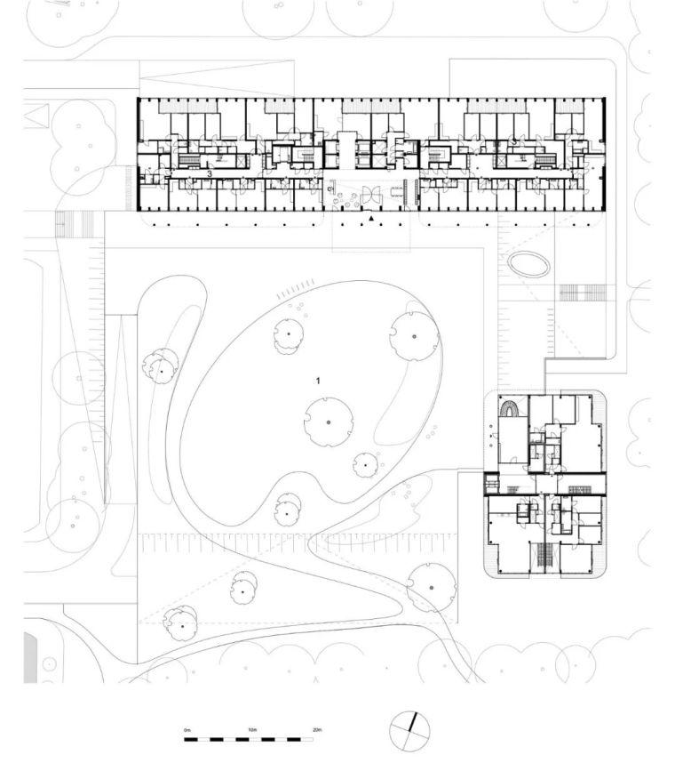 高端住宅公建化立面设计_21