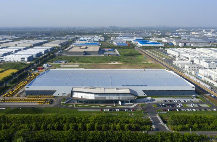 常州宝马格常州工厂-建筑外观_鸟瞰01(摄影师:常海豹)