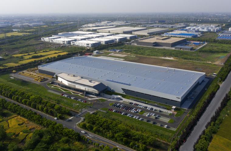 常州宝马格常州工厂-建筑外观_鸟瞰02(摄影师:常海豹)