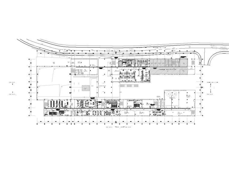 十套精品弱电智能化专项图纸合集-[重庆]某学院配套建筑弱电智能化图纸2019-2综合布线平面图