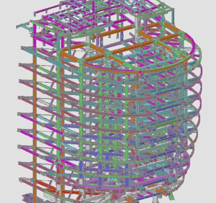 06 船头钢结构组成简图