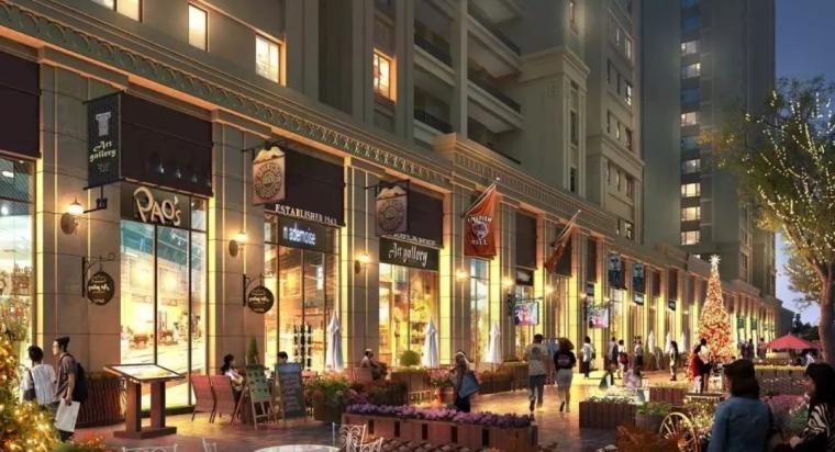 2层框架结构商业街施工组织设计(123页)