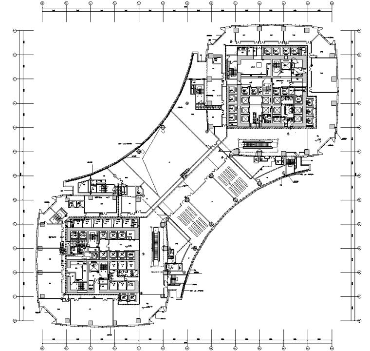 沈阳超高层综合体弱电智能化图纸(319m)