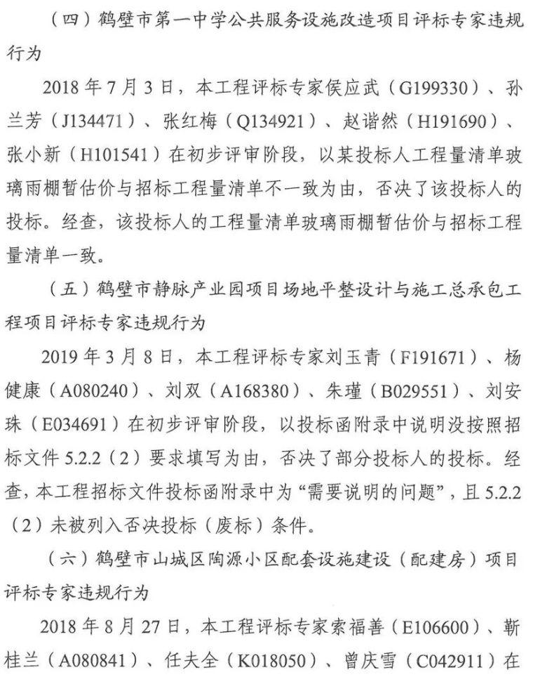 因违规评标,36名评标专家被暂停评标资格!_14